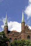 Church Saint Mary of Gdansk in Poland Royalty Free Stock Images