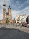 The church of saint mary in krakow poland europe Stock Images