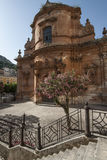 Church saint mary of  rescue modica ragusa sicily Italy europe Royalty Free Stock Photography
