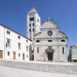 Church of Saint Mary in Zadar Stock Image