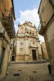 Church of Saint Matthew in Lecce, Puglia, Italy Stock Photography