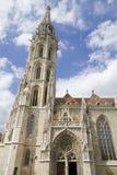 Church of saint matthias, budapest Stock Images