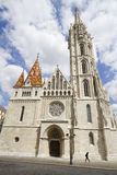 Church of saint matthias, budapest Royalty Free Stock Images
