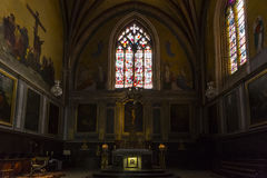 Church of Saint-Maur Royalty Free Stock Images