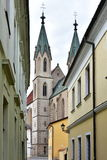 Church of Saint Maurice,Kromeriz, Stock Photography