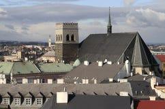 Church of Saint Maurice in Olomouc Royalty Free Stock Photo