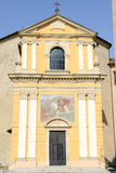 The church of Saint Maurizio at Bioggio Royalty Free Stock Photography