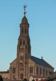 Church of Saint Michael in Saint-Michel-Mont-Mercure, France wit Royalty Free Stock Photos