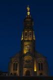 Church of Saint Michael in Saint-Michel-Mont-Mercure, France wit Stock Images
