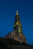 Church of Saint Michael in Saint-Michel-Mont-Mercure, France wit Royalty Free Stock Images