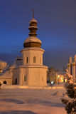 Church in Saint Michael& x27;s Golden-Domed Monastery Stock Photography