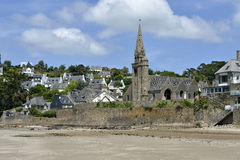 Church of Saint-Michel-en-Grève in France Royalty Free Stock Photography