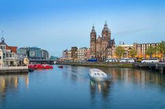 Church of Saint Nicholas in Amsterdam Royalty Free Stock Image