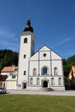 Church of Saint Nicholas in Hrvatska Kostajnica, Croatia. Parish Church of Saint Nicholas in Hrvatska Kostajnica, Croatia Stock Image