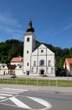 Church of Saint Nicholas in Hrvatska Kostajnica, Croatia. Parish Church of Saint Nicholas in Hrvatska Kostajnica, Croatia Stock Photography