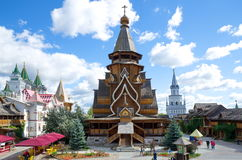 The Church of Saint Nicholas in Izmailovo Kremlin, Moscow, Russia Royalty Free Stock Images