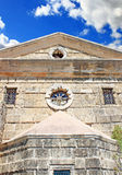 The Church of Saint Nicholas of Mole on Solomos Square in Zakynthos island, Greece Royalty Free Stock Photography