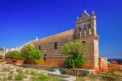 The Church of Saint Nicholas of Mole in Zakynthos, Greece Royalty Free Stock Images