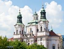 The Church of Saint Nicholas, Prague, Czech Republic Stock Photo