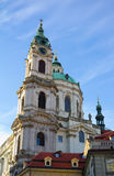 Church of Saint Nicolas, Prague Royalty Free Stock Image