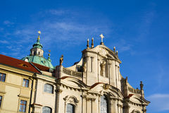 Church of Saint Nicolas, Prague Stock Photos