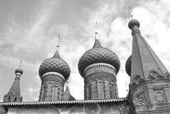 Church of Saint Nicolas in Yaroslavl, Russia. Black and white photo. Stock Photo