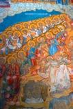 Church of Saint Nicolas in Yaroslavl, Russia. Interior. Royalty Free Stock Photos