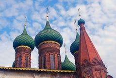 Church of Saint Nicolas in Yaroslavl, Russia. Royalty Free Stock Photography