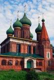 Church of Saint Nicolas in Yaroslavl, Russia. Stock Image