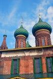 Church of Saint Nicolas in Yaroslavl, Russia. Royalty Free Stock Photo