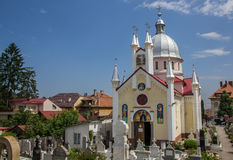 Church of saint Paraschiva in Brasov Stock Photography