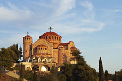 Church of Saint Pavlo at Greece Royalty Free Stock Image