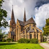 Church of Saint Peter, Malmo. Church of Saint Peter in Malmo, Sweden Stock Images