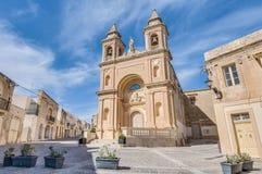 Church of Saint Peter in Marsaxlokk, Malta royalty free stock photo