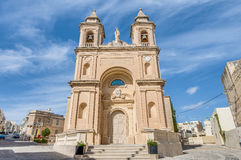 Church of Saint Peter in Marsaxlokk, Malta Stock Photos