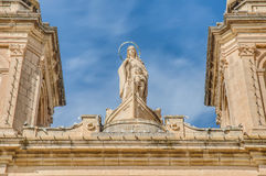 Church of Saint Peter in Marsaxlokk, Malta Stock Photography