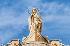 Church of Saint Peter in Marsaxlokk, Malta Royalty Free Stock Images