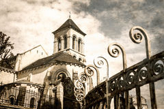 The Church of Saint Peter of Montmartre Royalty Free Stock Photos