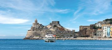 Church of Saint Peter - Porto Venere Italy Stock Photo