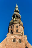A church of Saint Peter  in Riga Royalty Free Stock Images