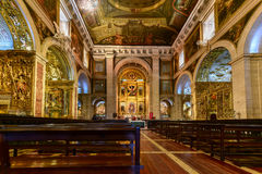 Church of Saint Roch - Lisbon, Portugal Stock Photos