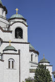 Church of Saint Sava in Belgrade Royalty Free Stock Images