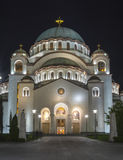 Church of Saint Sava Royalty Free Stock Images