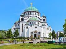 Church of Saint Sava in Belgrade, Serbia Stock Photo