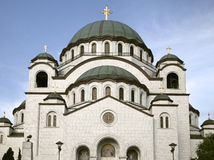 Church of Saint Sava in Beograd. Serbia royalty free stock photos