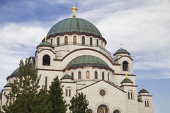 Church of Saint Sava in Beograd. Serbia stock images