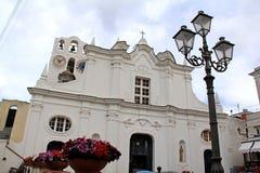 The church of Saint Sofia in Anacapri Royalty Free Stock Photography