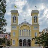 Church of Saint Spyridon in Piraeus near Athens, Greece Royalty Free Stock Images