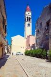 Church of Saint Spyridon of Trimythous (1590), Corfu city Stock Images
