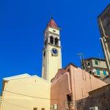 Church of Saint Spyridon of Trimythous, Corfu Royalty Free Stock Photography
